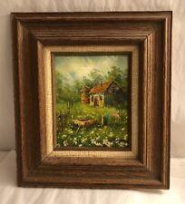 Farm House Oil Painting  Sign Sherman