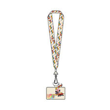 Loungefly Disney Pixar Inside Out Wagon Lanyard With Card Holder New In Stock