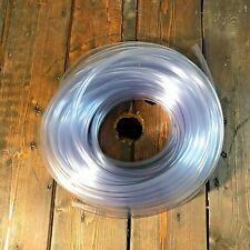 Clear Plastic Tubing 60 Ft Length 38 Id X 12 Od Flexible Vinyl Hose Bpa Free