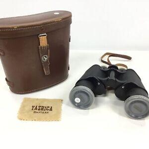 Yashica 7 x 50 Field 7.1° Binoculars with Cowhide Case #694