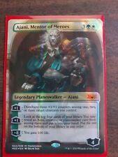 MTG Ajani, Mentor of Heroes Masterpiece Ravnica Allegiance Mythic Edition x1