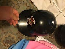 greeneville astros game worn Kyle Miller 2007 batting helmet rare damaged