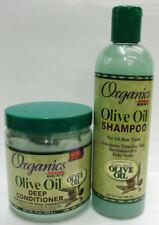 Shampoo Organics Aceite de Oliva & Acondicionador Profundo Para Cuidado del Cabello/Tratamiento Capilar