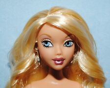 MY SCENE Sexy Sassy Belly Button NUDE Curly Blonde Haired BARBIE for OOAK