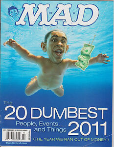 Mad Magazine #513 Feb 2012 The 20 Dumbest People, Events & Things 2011