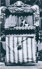VICTORIAN CURIOSITY PUNCH AND JUDY SHOW CIRCUS SIDESHOW FREAK SHOW FREAKSHOW