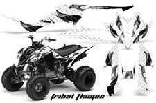 ATV Decal Graphic Kit Quad Sticker Wrap For Yamaha Raptor 350 2004-2014 TF K W