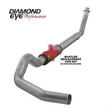 "Diamond Eye 5"" TurboBack Exhaust for 94-02 Dodge Ram 2500 3500 5.9L W/O Muffler"