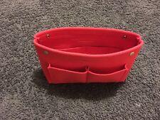 Red Scandavian Touch Felt Bag Organiser.