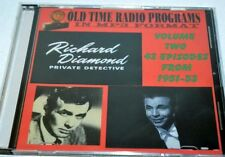 Old time radio shows-in MP3 format -Richard Diamond Private Detective 1951-53