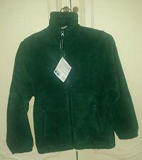 New Premium Quality Snowgoose Kids Green Fleece Jacket Coat Blazer Size 9-10 Yr