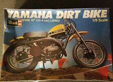Yamaha Dirt Bike By Revell 1:8 scale