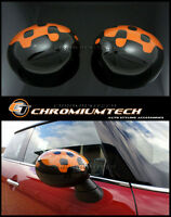 MK3 MINI Cooper/S/ONE/JCW F55 F56 F57 Vivid ORANGE Mirror Cap Cover for RHD