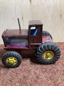 Ruddy L Toys NY Lint Toys Farm Tractor Toy Vintage
