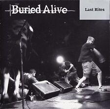 Buried Alive - Last Rites LP BLUE Vinyl Victory Records Hardcore Punk SEALED DL