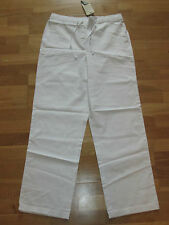 cotton traders white pull on trousers size 14 leg 31 brand new with tags