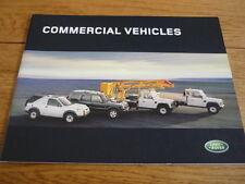 Land Rover vehículos comerciales folleto 2004, Jm