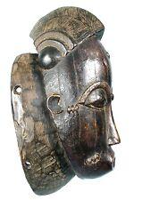 Art Africain Tribal - Ancien & Authentique Masque du Mblo Baoulé - 34 Cms ++++++