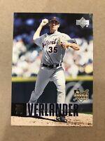 2006 Upper Deck Justin Verlander Detroit Tigers Astro's #922 Rookie Rc