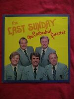 The Cathedral Quartet Cathedrals THE LAST SUNDAY vinyl LP NM