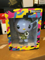 Green Camo Hello Kitty TEQ63 Vinyl Figure Quiccs Sanrio Kidrobot IamRetro LE 150