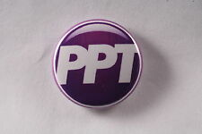 """Working Peoples Party of Puerto Rico PPT Left Socialist Button Pin 1"""""""