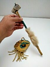 Vintage Native American IStyle Decorative Tobacco Antler Pipe