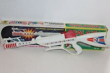 Battery Operated Galaxy Space Submachine Gun by Gonher of Spain in ORIGINAL BOX