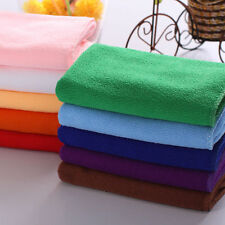 10X Lot Mixed color Soft Cotton Face Towel Car Cleaning Wash Cloth Hand Towel