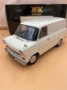 1/18 Ford Transit Lieferwagen weiß 1965 KK Scale KKDC180493 lim. 500 Stück OVP