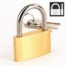 40mm KEYED ALIKE SOLID BRASS PADLOCK Same Keys Security Lock 2 3 4 5 6 7 8 9 10+