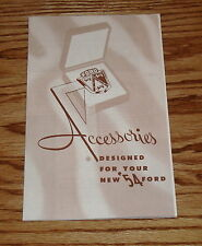 1954 Ford Car Accessories Sales Brochure 54