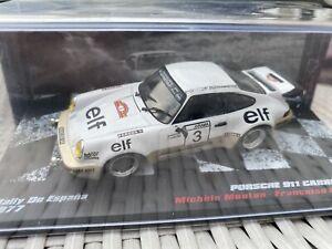 1 43 PORSCHE 911 SC  N 3 PILOTE MICHELE MOUTON RALLY WRC ESPAGNE  1977