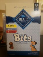 Blue Buffalo Natural Soft Moist Training Dog Treats Variety 2 Pack Chicken Beef