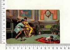 "12314) CP Orig. 22.12.1924 "" Alte Familie Roman ""Mailand Messina"