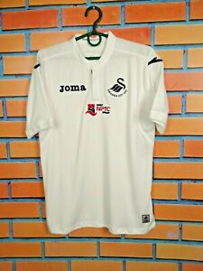 Swansea City Jersey Home Kids Boys 14 years XL Shirt Football Soccer Joma