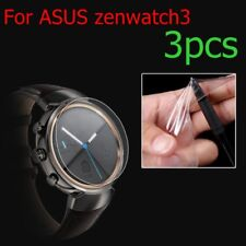 3pc soft Anti-scratch Shockproof Film Screen Protector for ASUS zenwatch3 Watch