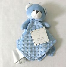 Manhattan Kids Baby Blue Bear Popcorn Plush Cuddly Pal Security Blanket