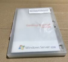 Microsoft Windows Server 2008 Standard 5 CAL 32-bit  & 64-bit DVD COA 1-4 CPU