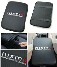 UNIVERSAL NISMO Carbon Fiber Car Center Console Armrest Cushion Mat Pad Cover