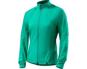 Specialized Women's Small Deflect Hybrid Cycling Jacket Wind-Water Resistant