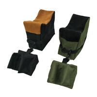 Shooting Range Sand Bag Set Bench Rest Stand Front Rest Bag Hunting Chan
