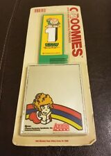 New Sealed Unpunched 1979 Orphan Annie Groomies Comb And Mirror Combination