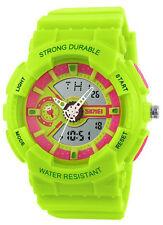Round Plastic Case Sport Wristwatches with Alarm