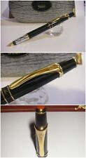 stilografica DUKE Black Lacquer fountain Pen - Stylo  Nib F/M