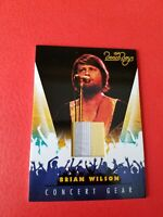 BRIAN WILSON THE BEACH BOYS SINGER CONCERT WORN RELIC MEMORABILIA CARD #11 SURF