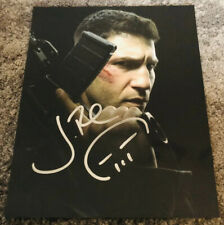 Jon Berthnal Signed 8x10 Photograph With Skull The Punisher