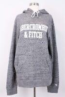 NWT Abercrombie & Fitch Men's Hoodie Size XXL Gray
