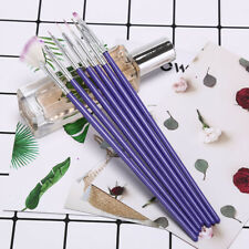 pro 7pcs nail art design brush painting dotting drawing pen set make up tools WQ