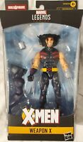 FREE SHIPPING X-Men Marvel Legends 2020 6-Inch Weapon X Action Figure BY HASBRO